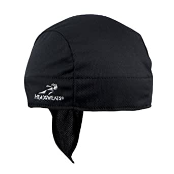 Headsweats Super Duty Shorty Beanie and Helmet Liner, Black, One Size
