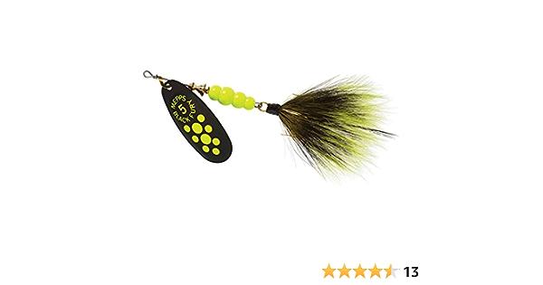 Mepps Chartreuse x1, 3 Cuiller Black Fury Point Jaune