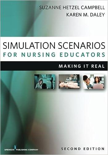 Simulation Scenarios for Nursing Educators, Second Edition: Making