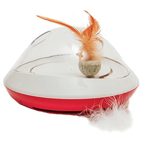 Jolly Moggy Feather chase toy for cats