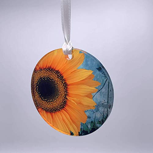 (Sunflower Acrylic Ornament)