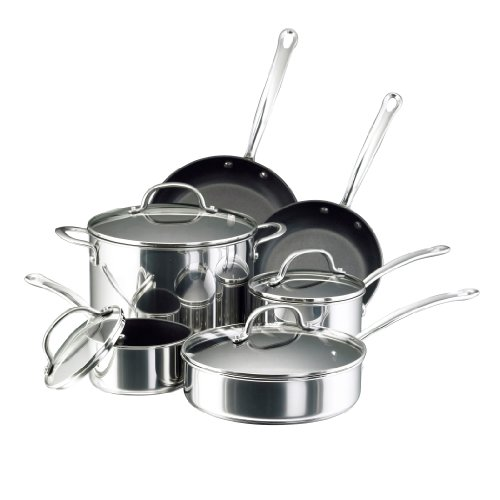 Individual Lasagna Dish (Farberware Millennium Stainless Steel Nonstick 10-Piece Cookware Set)