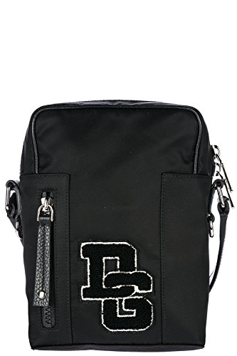 Dolce&Gabbana men's Nylon cross-body messenger shoulder bag patch logo - Gabbana Dolce And 2014 Handbags
