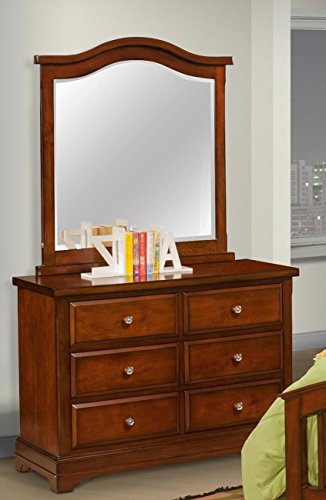 Sandpoint 5 Piece Twin Slat Bedroom Set with 2 Nightstands in Tobacco by NCF Furniture (Image #3)