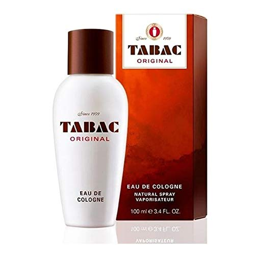 Tabac Maurer & Wirtz Tabac Original Eau de Cologne Splash for Men, 3.4 Ounce