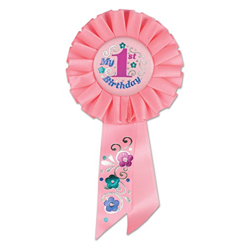 Beistle RS051P Birthday Rosette 2 Inch product image