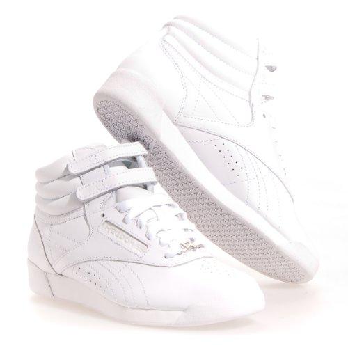 Reebok Women Freestyle High (white) Size 8.5 US