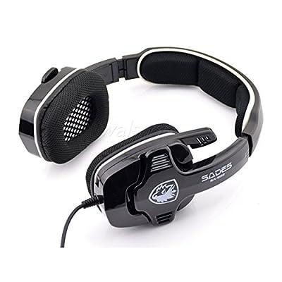 Sades SA-922 Stereo Gaming Headphone with Mic for PC PS3 XBOX