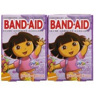 johnson-johnson-assorted-sizes-dora-band-aid-adhesive-bandages-25-ct