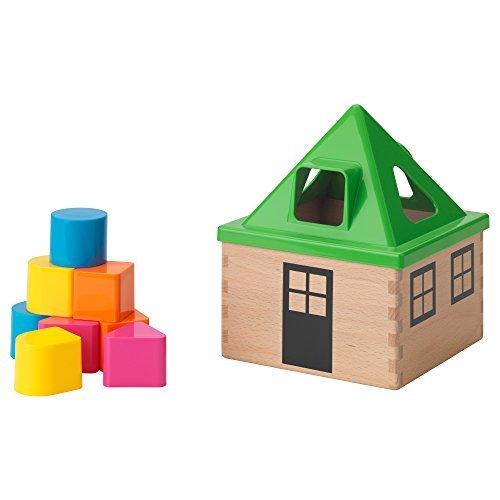 Småland Böna IKEA - MULA Shape O Toy, Multicolor]()