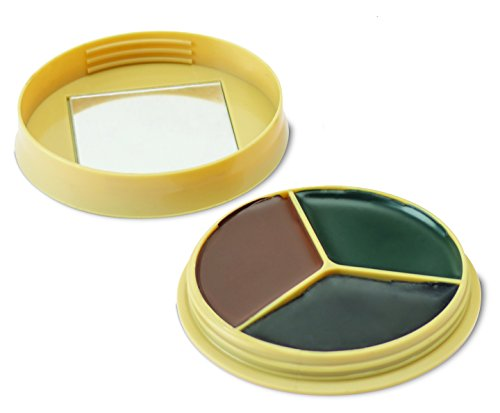 - HME Prodcuts Camo Face Paint 3 color with mirror