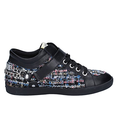 EU Leather Sneakers Womens Jo Liu Fashion Black 40 Wqgv7xw