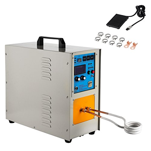 Happybuy 15KW 30-100 KHz High Frequency Induction Heater Furnace Melting Furnace System LH-15A Promotion (30-100 KHz High Frequency)