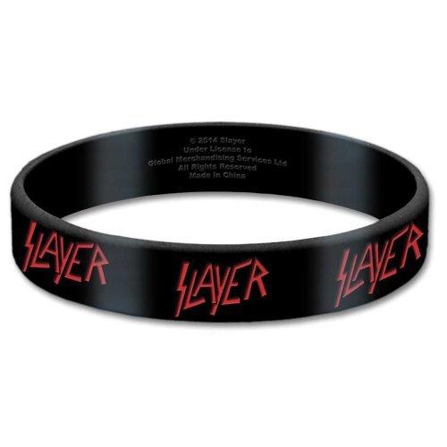 Slayer - Rubber Bracelet Wristband - Logo - UK Import - Licensed New In Pack