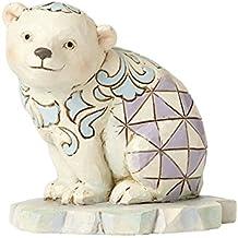 Enesco Jim Shore HWC Mini Polar Bear On Ice Figurine