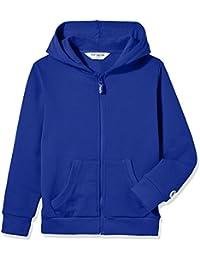 e97962ed0007 Kids' Soft Brushed Fleece Zip-Up Hooded Sweatshirt Hoodie for Boys or Girls