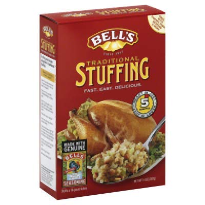 Bells Mix Ready Mixed Stuffing 14.0 OZ (Pack of 12)
