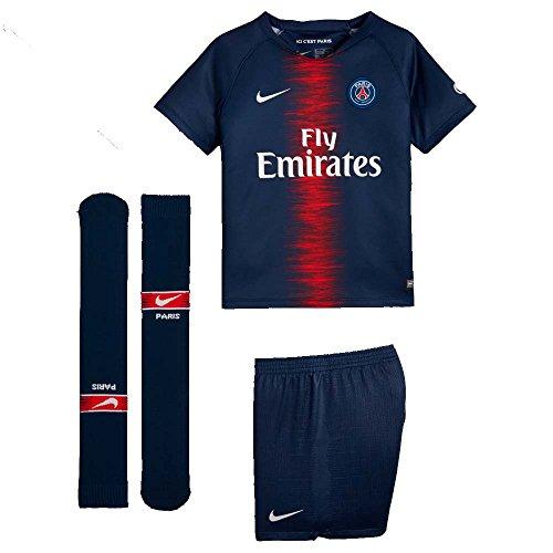 NIKE 2018-2019 PSG Home Little Boys Mini (Nike Youth Football Kits)