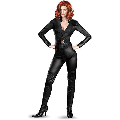 The Avengers: Black Widow Deluxe Adult Costume - (Deluxe Black Widow Avengers Adult Costumes)