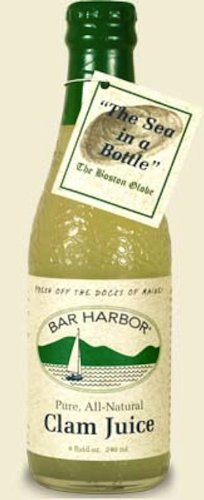 Bar Harbor Clam Juice, 8-Ounce Glass (Pack of 6) by Bar Harbor