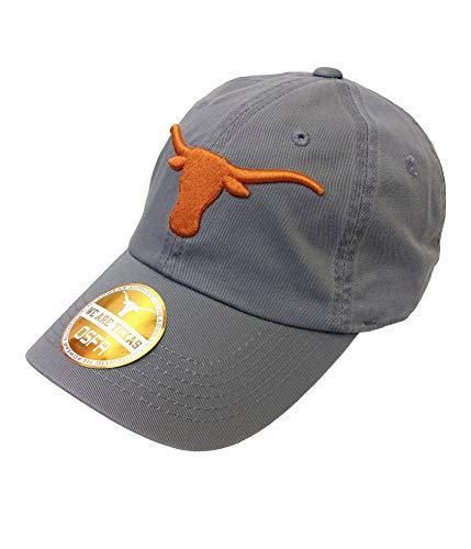 Texas Longhorn Hats (Elite Fan Shop Texas Longhorns Hat Charcoal -)