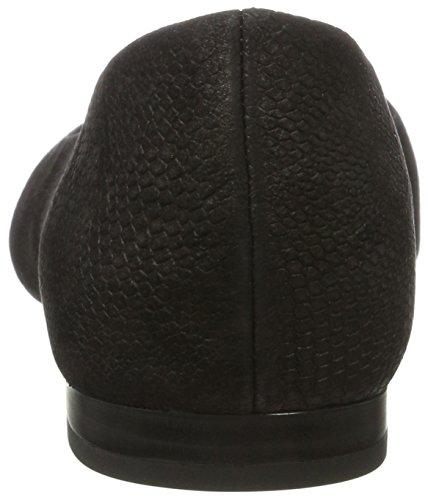 Women's Black 030 22100 Flats Black Caprice Snake Ballet Odx4wOAH