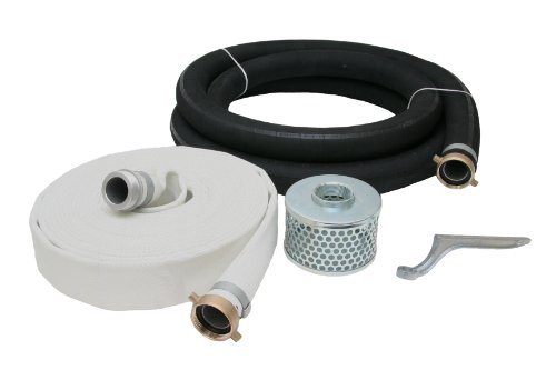 (Abbott Rubber Rubber Water Suction and Discharge Hose Pump Kit, Black/Blue, 3