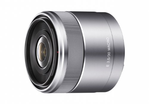 Sony SEL30M35 30mm f/3.5 e-mount Macro Fixed - Compact Wide Camera Angle Lens