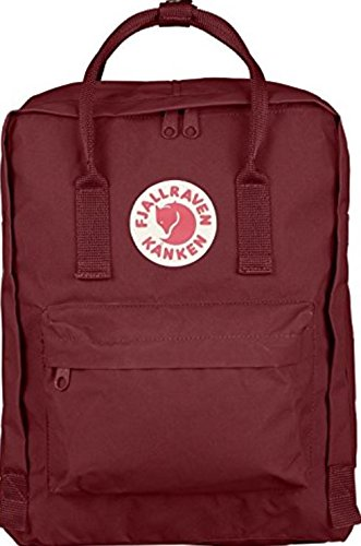 Fjallraven - Kanken Classic Pack, Heritage and Responsibility Since 1960, One Size,Ox - Company Ski Logos
