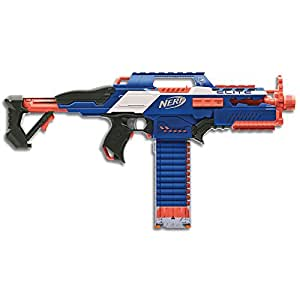 Nerf Elite - Rapidstrike CS 18 Motorised Rapid Fire Blaster - inc 18 Official Darts & Clip - Kids Toys & Outdoor Play - Ages 8+