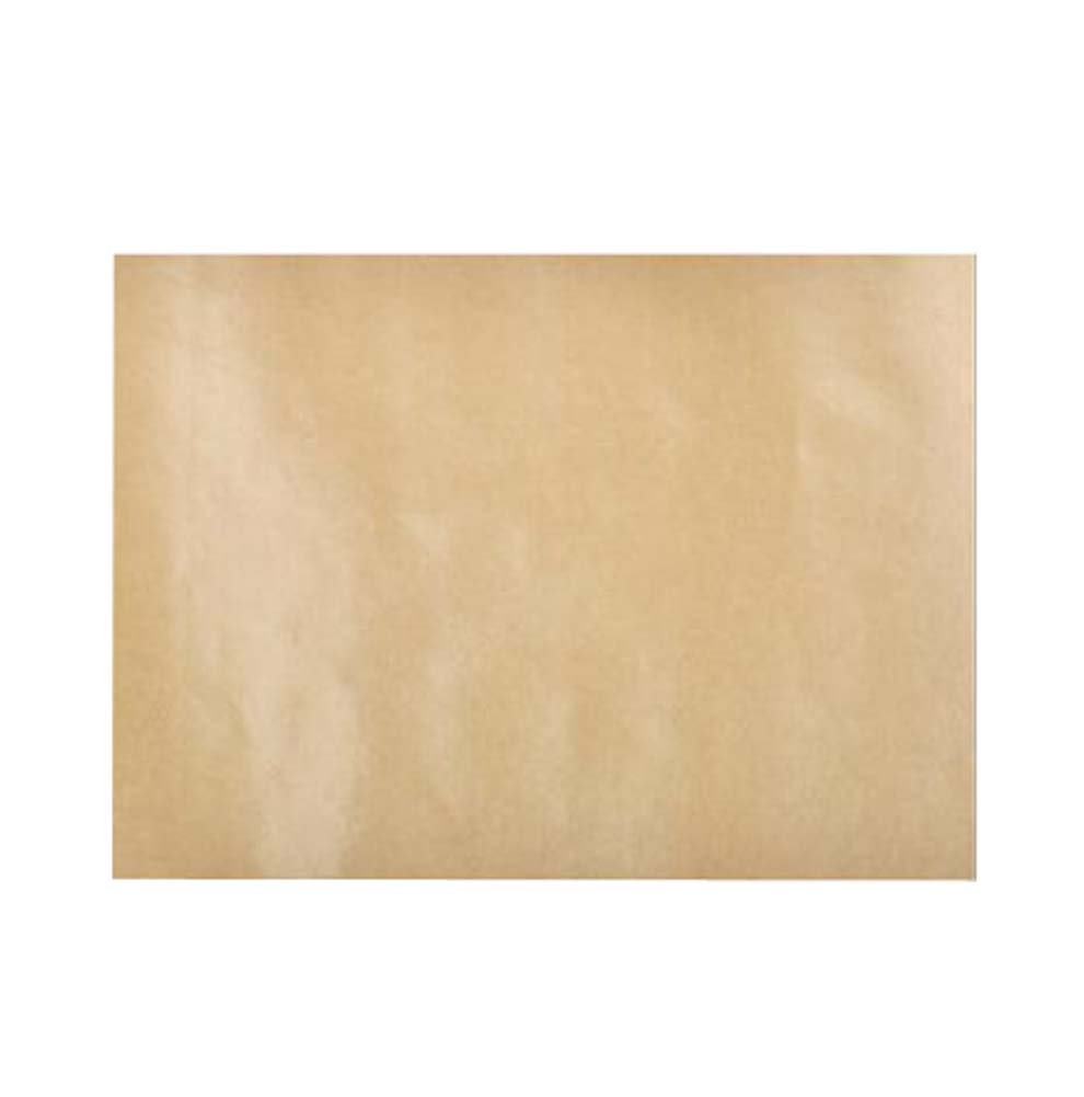 DRAGON SONIC Kraft Paper Sheets Pack of 100 | Grease Resistant Food Liner/Baking Parchment,E