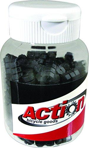 Action Black 600PC Bottle 1.2mm Cable Donut