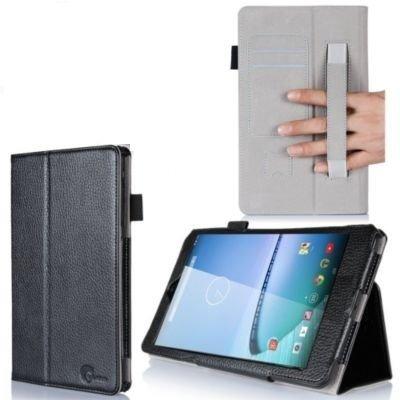 I-blason Hisense Sero 8 Case - Leather Book (Elastic Hand Strap, Multi-angle, Card Holder) One Year Warranty (Black, Hisense Sero 8)