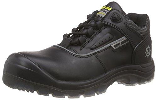 Safety Jogger NOVA Herren Sicherheitsschuhe Schwarz (Black 210)