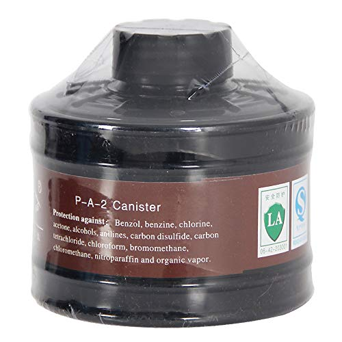 - Filter Canister 40mm For Mask Respirator, For Industrial Use, Chemical Handling, Painting and Welding, CE Certification