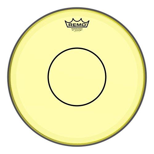 Remo Powerstroke 77 Colortone Yellow Drumhead, 14