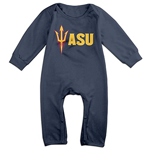 Ahey Babys Arizona State University ASU Long Sleeve Jumpsuit Outfits 12 Months