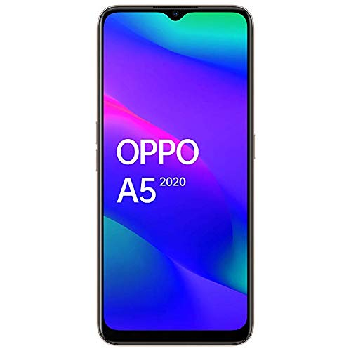 Oppo mobile A5 2020 (Dazzling White, 4GB RAM, 64GB Storage)