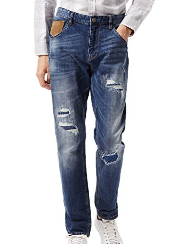 meters-bonwe-mens-scratched-patchwork-straight-leg-denim-pants-blue-l