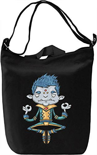 Floating guy Borsa Giornaliera Canvas Canvas Day Bag| 100% Premium Cotton Canvas| DTG Printing|