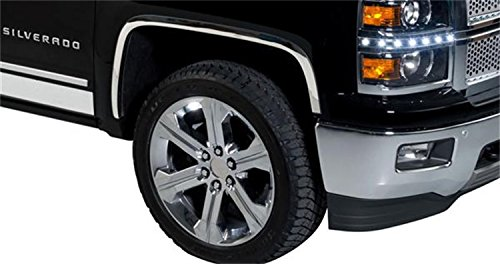 Putco 97295 Stainless Steel Full Fender Trim Kit for Chevrolet -