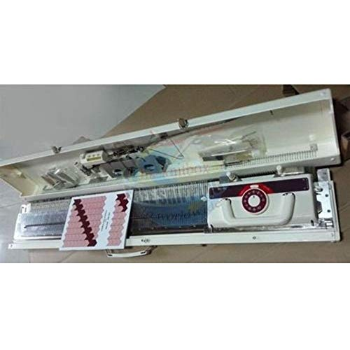 Weaver KH160 6mm Mid Gauge Chunky Knitting Machine with Built in Intarsia Same as Brother KH160 by SUNNY CHOI (Image #2)