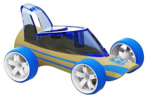 Hape Roadster Kid's Bamboo Toy Car