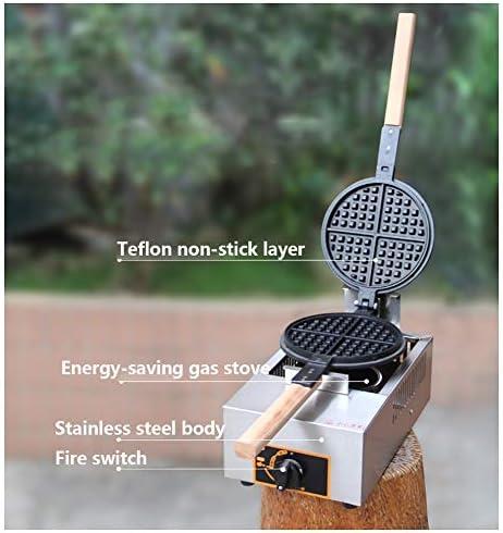 Gaufrier Gaufrier de gaz commercial Machine avec contrôle du temps et la température dans les Family Restaurant Boulangeries snack-bar gaufrier professionnel