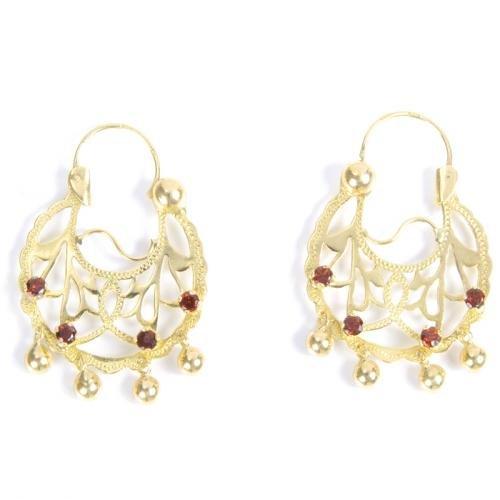 bien pas cher vente chaude authentique couleur n brillante Bijoux briant - Femme - Boucle d'oreille - Or 18ct ...