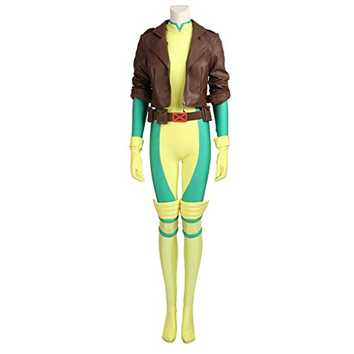 [CosplayDiy Women's Costume Sets for X-Men Rogue Cosplay XXL] (Women X Men Costumes)