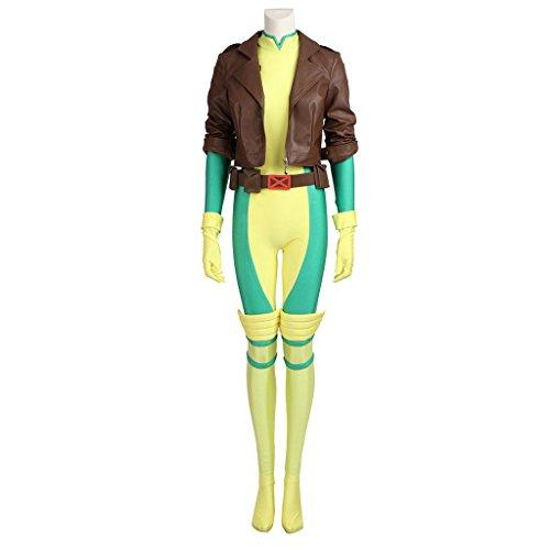 CosplayDiy Women's Costume Sets for X-Men Rogue Cosplay XXL
