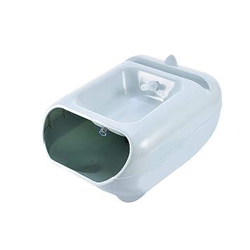 per Dispensador de Fuente de alimentador de Agua de Mascotas para Mascotas Contenedor de cuencas de
