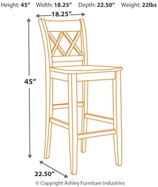 home, kitchen, furniture, game, recreation room furniture, home bar furniture,  barstools 9 image Signature Design by Ashley - Mestler Bar Stool - Pub promotion