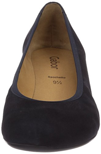 Blue Fantasy Gabor Pazifik Women's Blue Shoes Suede Court xvxwRSqYad